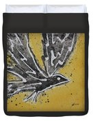 First Flight Original Painting Duvet Cover