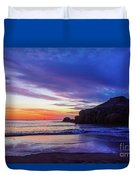 First Light At Trow Rocks. Duvet Cover