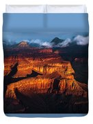 First Light - Grand Canyon Duvet Cover