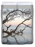 First Light - Hunting Island South Carolina Duvet Cover