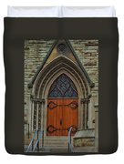 First Presbyterian Church Door Duvet Cover