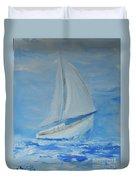 First Sail Duvet Cover