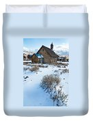 First Snow  Bodie Duvet Cover