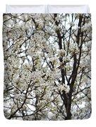 First Spring Blossom Duvet Cover