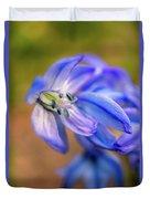 First Spring Flowers Duvet Cover