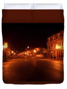 First Street Nocturne Duvet Cover
