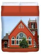 First United Methodist Church Tupelo Ms Duvet Cover