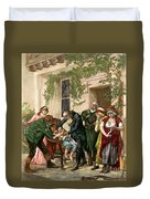 First Vaccination, 1796 Duvet Cover