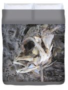 Fish Bones Duvet Cover