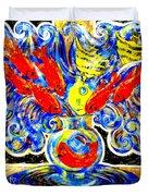 Fish Bouquet Duvet Cover