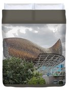 Fish By Frank Owen Gehry - Olympic Village - Barcelona Spain Duvet Cover