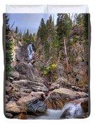 Fish Creek Fallin Duvet Cover