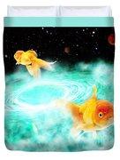 Zen Fish Dream Duvet Cover