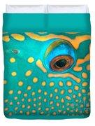 Fish Eye Duvet Cover