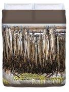 Fish For Snack Duvet Cover