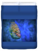 Fish Frown Story Duvet Cover