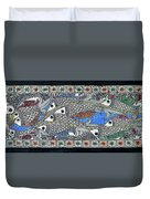 Fish Group Duvet Cover
