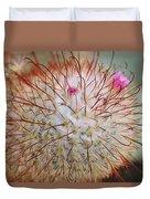 Fish Hook Barrel Cactus Duvet Cover