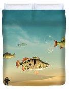 Fish Life  Duvet Cover