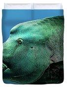 Fish Lips Duvet Cover