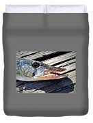 Fish Mouth Duvet Cover