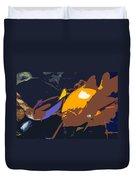 Fish Of The Tropics Duvet Cover