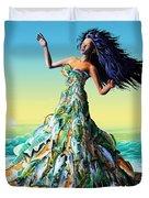 Fish Queen Duvet Cover