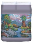 Fish Trap Indian Canyon Duvet Cover
