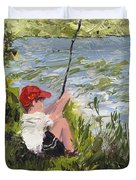 Fisher Boy Duvet Cover