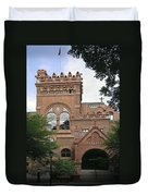 Fisher Fine Arts Library Historical Place Duvet Cover