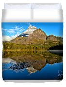 Fishercap Snowcap Reflections Duvet Cover