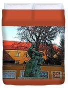 Fisherman Fight, Zagreb  Duvet Cover