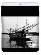 Fisherman's Boat Duvet Cover