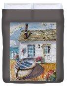 Fisherman's Cottage Duvet Cover