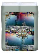 Fishermans Terminal 3 Duvet Cover