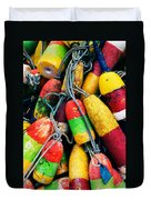 Fishermen's Floats Duvet Cover
