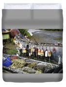Fishermen's Supplies Duvet Cover