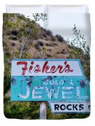 Fisher's Jewelry Duvet Cover
