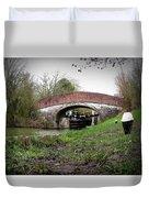 Fisheye Bridge Duvet Cover