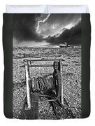 Fishing Boat Graveyard 8 Duvet Cover