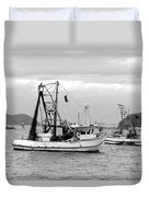 Fishing Boats At Pearl Beach 1.2 Duvet Cover