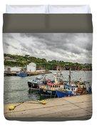 Fishing Boats Duvet Cover