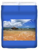 Fishing In Maui Duvet Cover