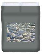 Fishing In The Foam Duvet Cover