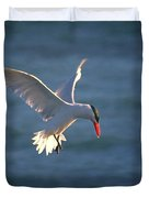 Fishing Tern Duvet Cover