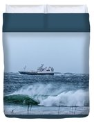 Fishing Vessel Duvet Cover