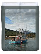 Fishing Vessel Chinak Duvet Cover