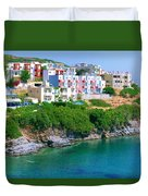 Fishing Village Bali Duvet Cover
