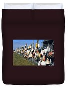 Fishing Village Duvet Cover
