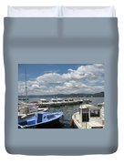 Fishingboats Duvet Cover